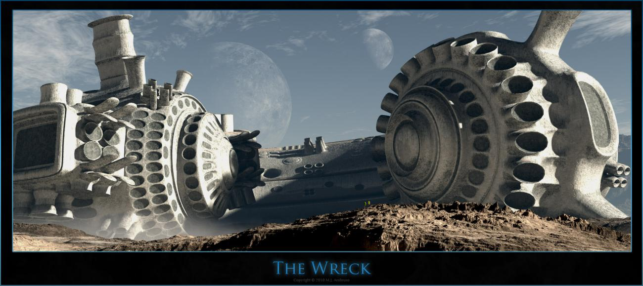 The Wreck by theSea