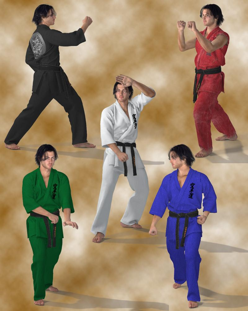 Karate Suit for M4