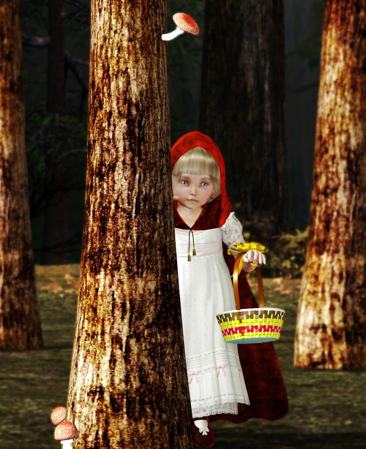 Le Petit Chaperon rouge by pipinoco