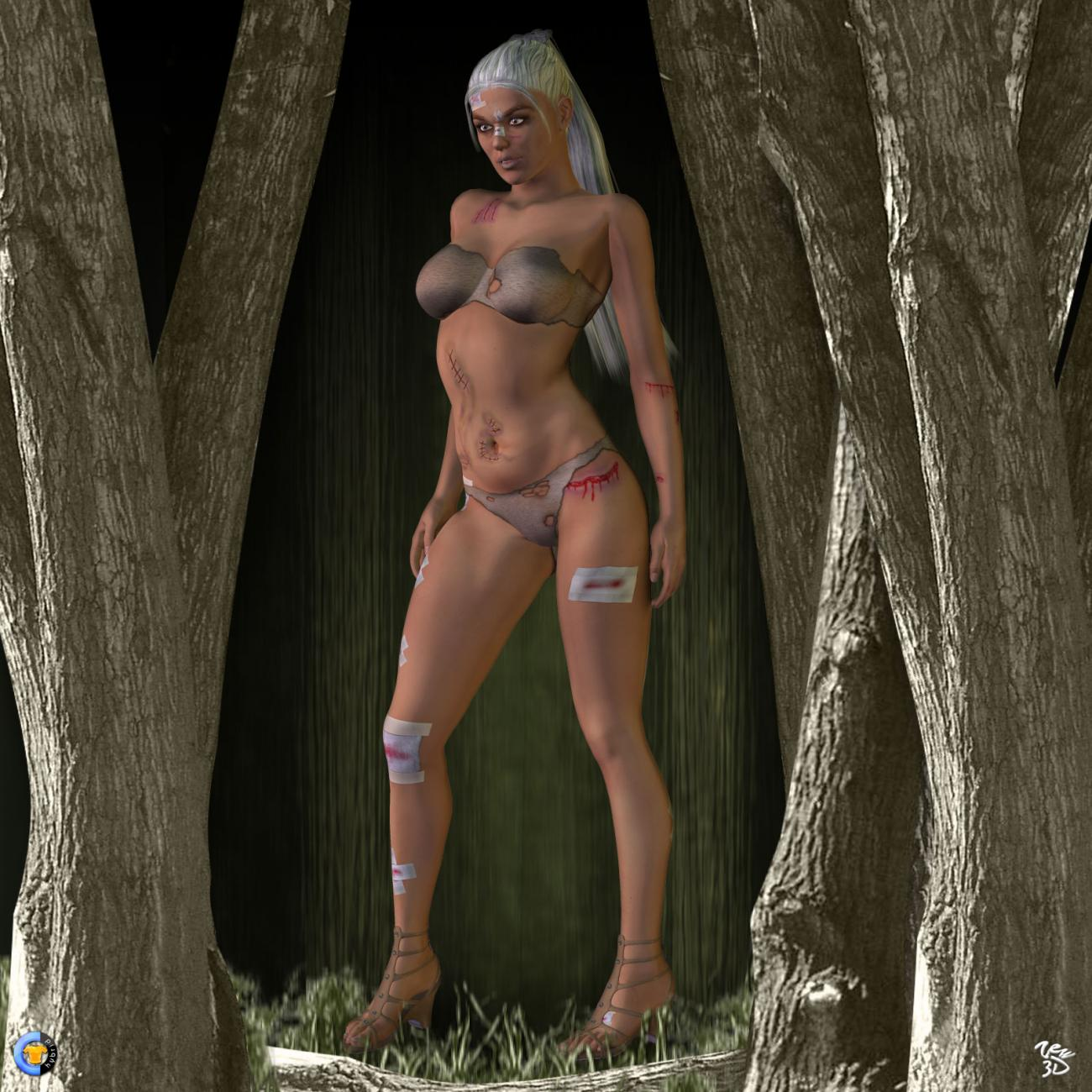 CLOTHER Hybrid - Wicked forest by zew3d