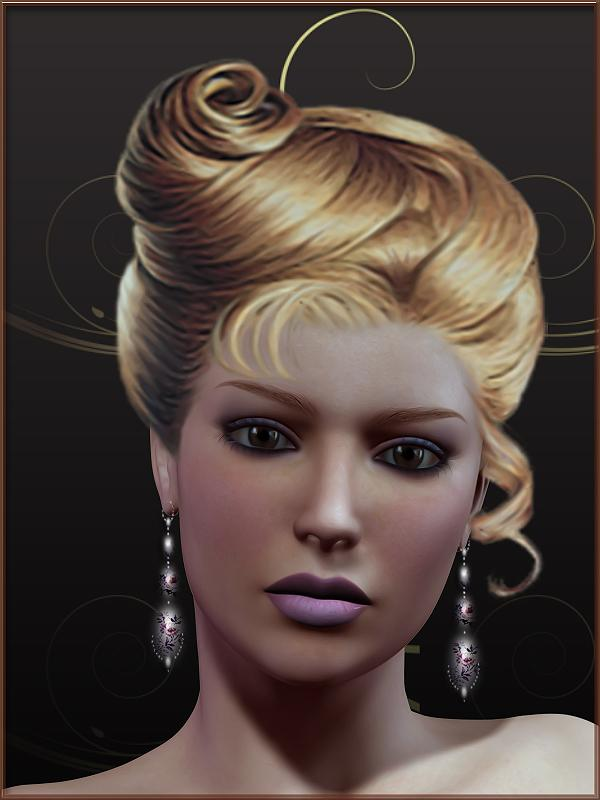 A simple portrait of Dianthe for morghana (Delia)