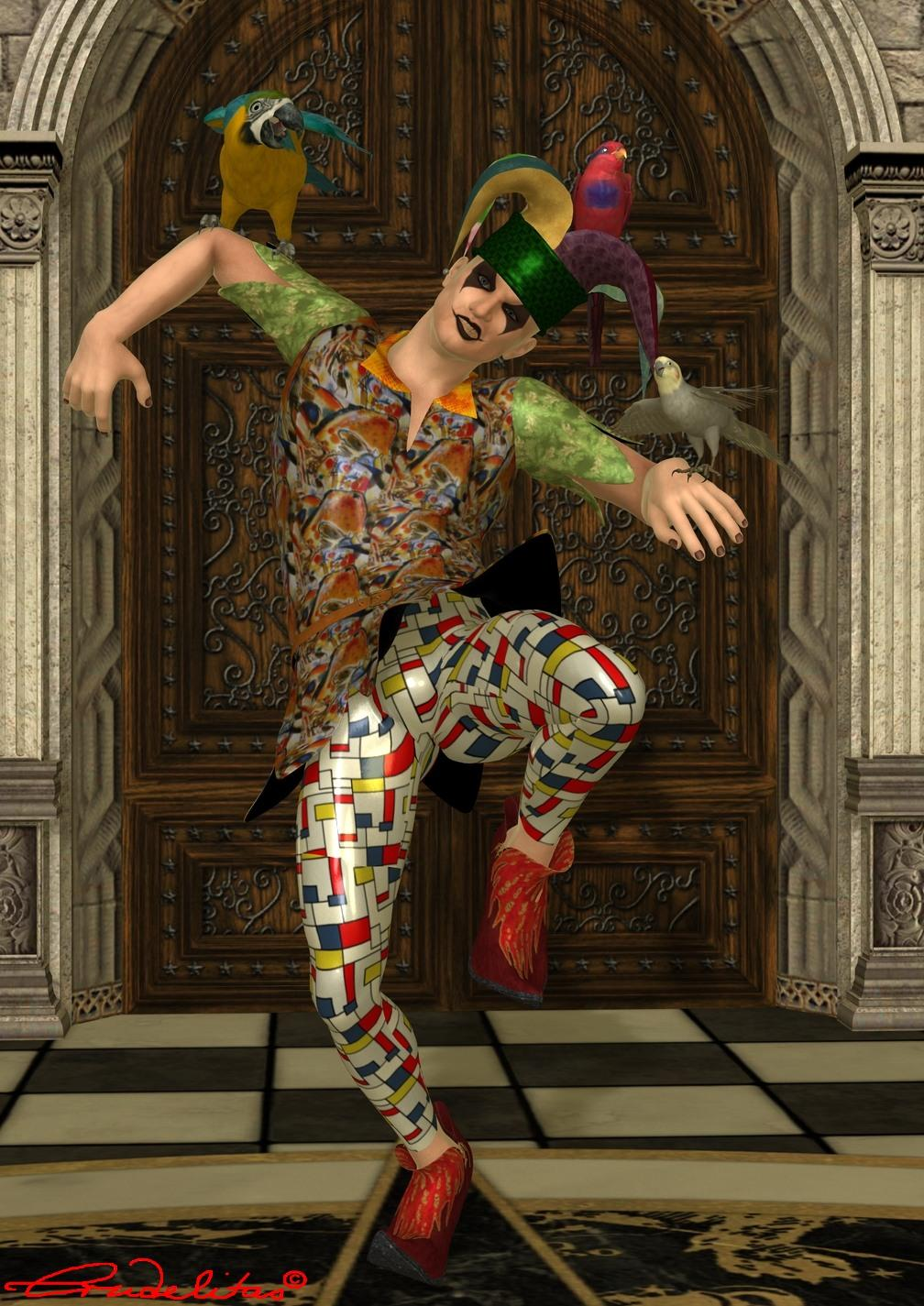 The Jester by Crudelitas