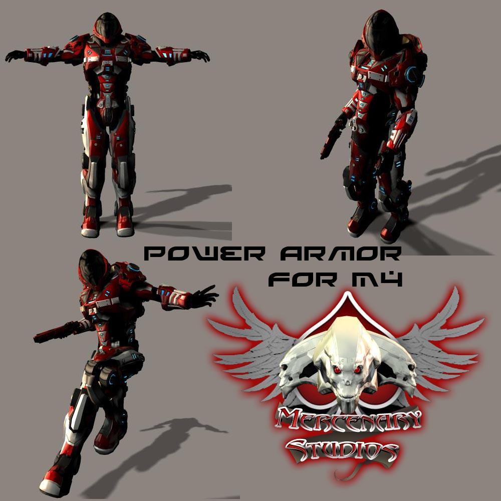 Power Armor for M4 Preview