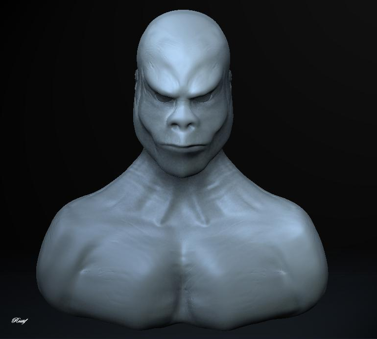First Sculpt by restif