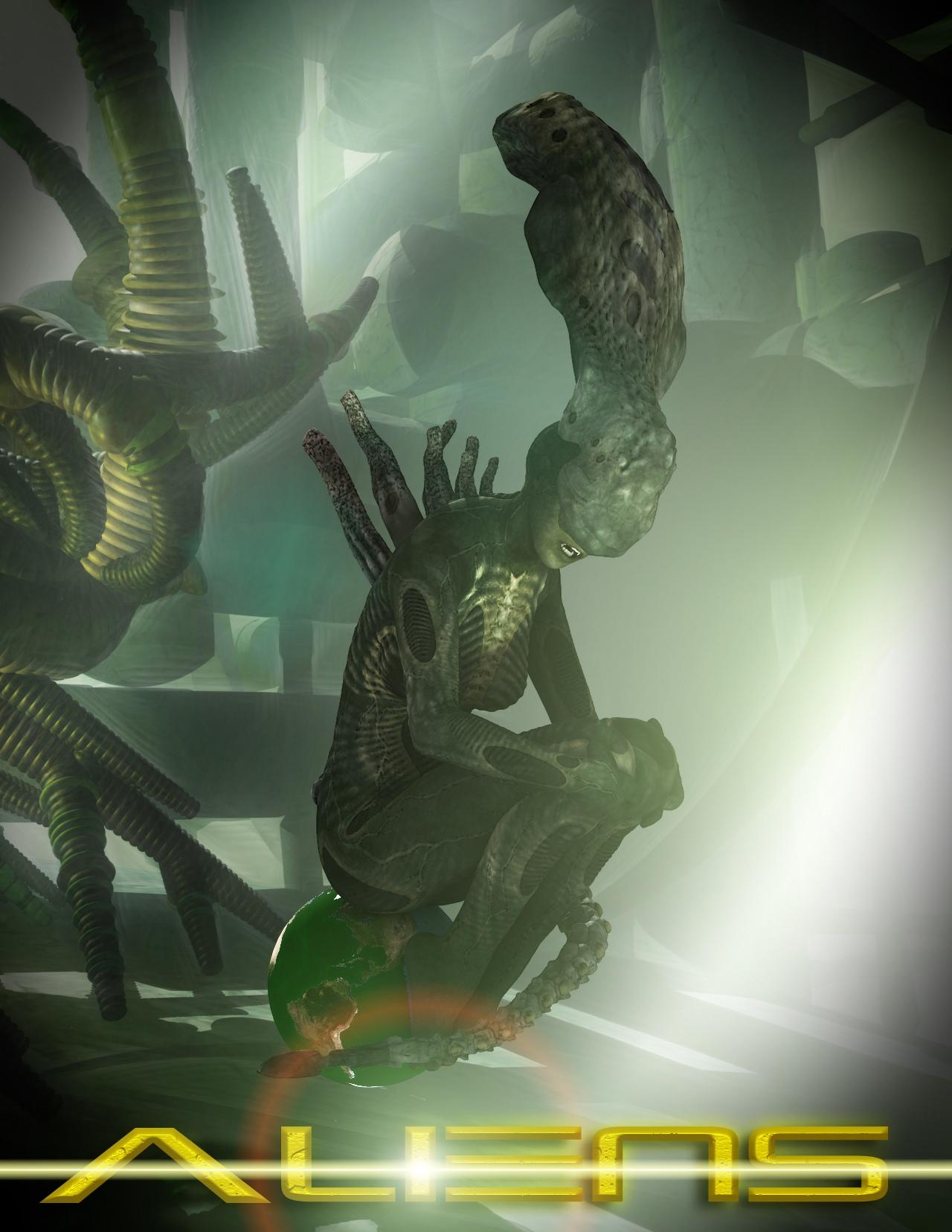 Aliens (next pic) for UteBig...:D  by PeterN64