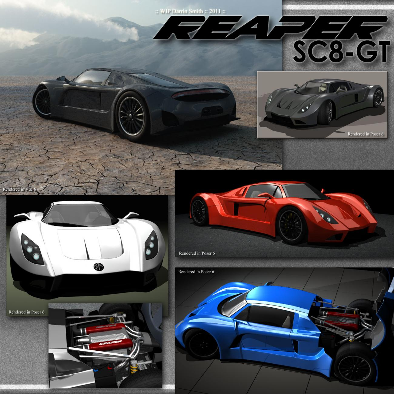 REAPER SC8-GT for Poser by Swidhelm
