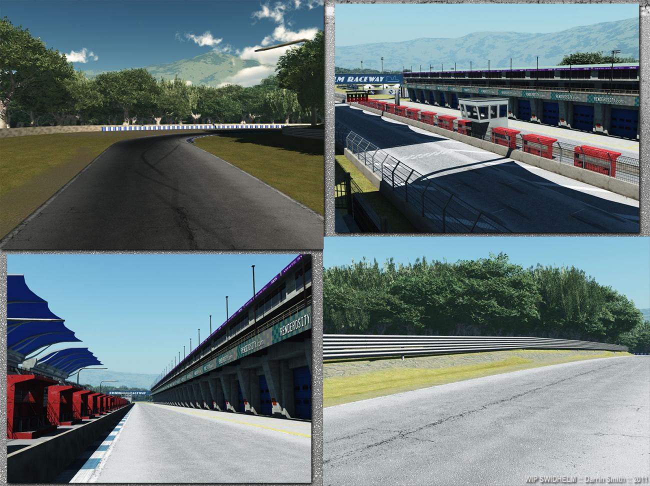 Raceway Nearing Completion by Swidhelm