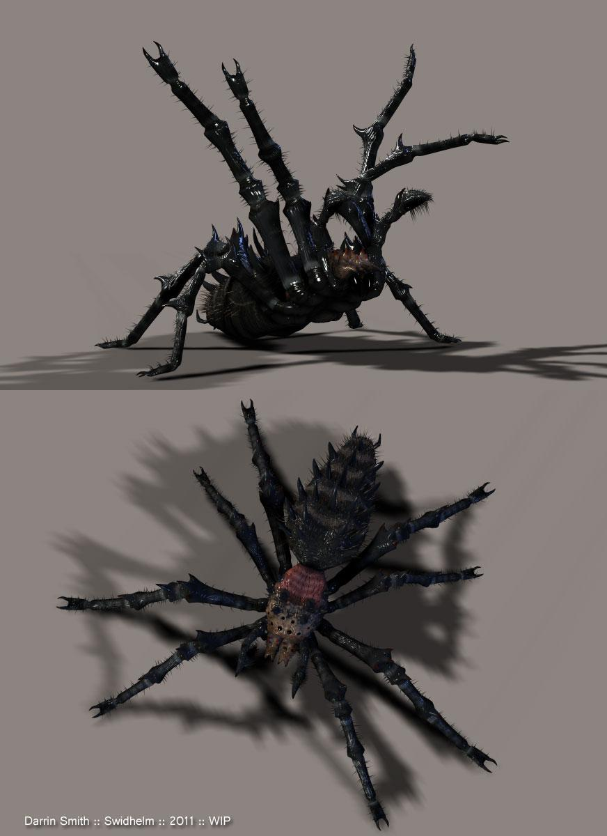 Barbed Horror Successor WIP by Swidhelm
