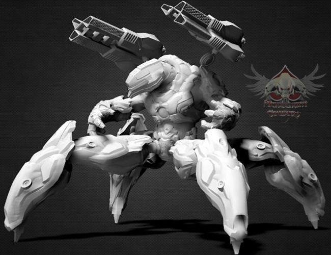 BEO QUAD White by Mestophales