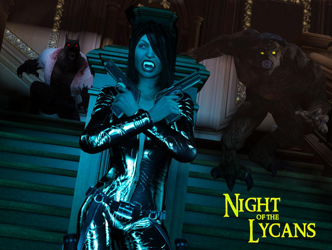 Night of The Lycans by Disciple3d