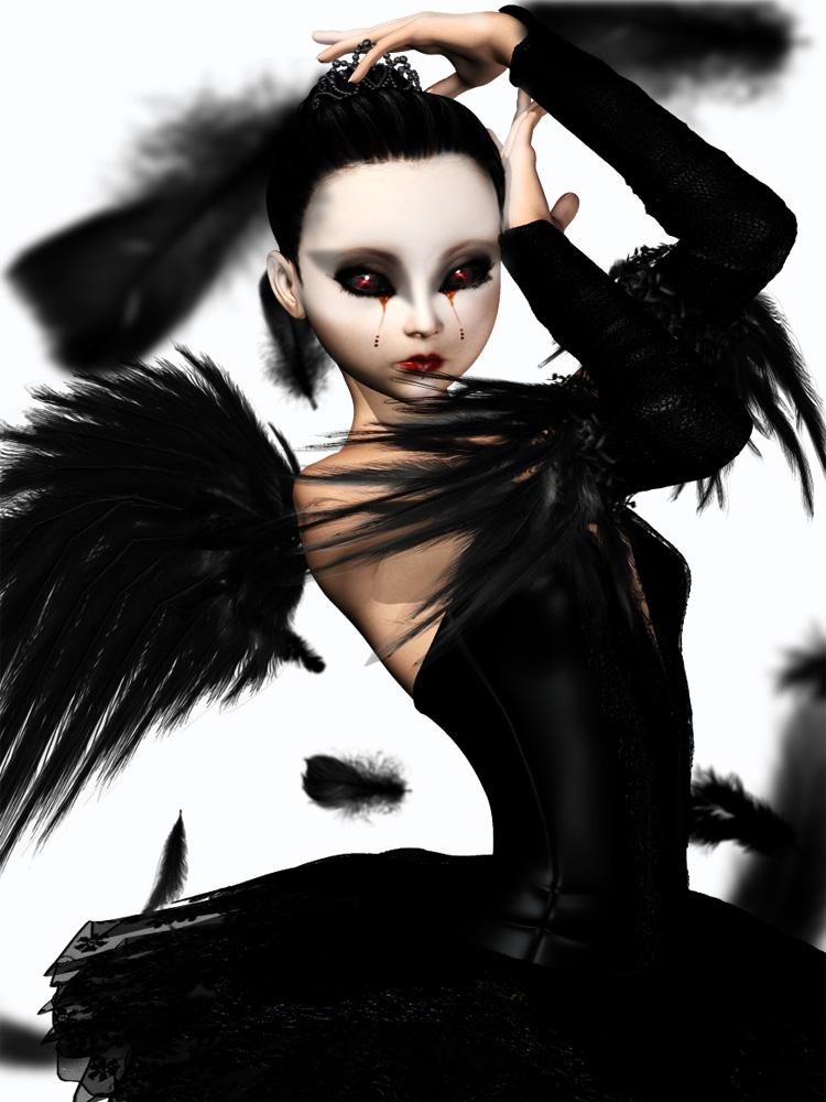 Black swan by pipinoco