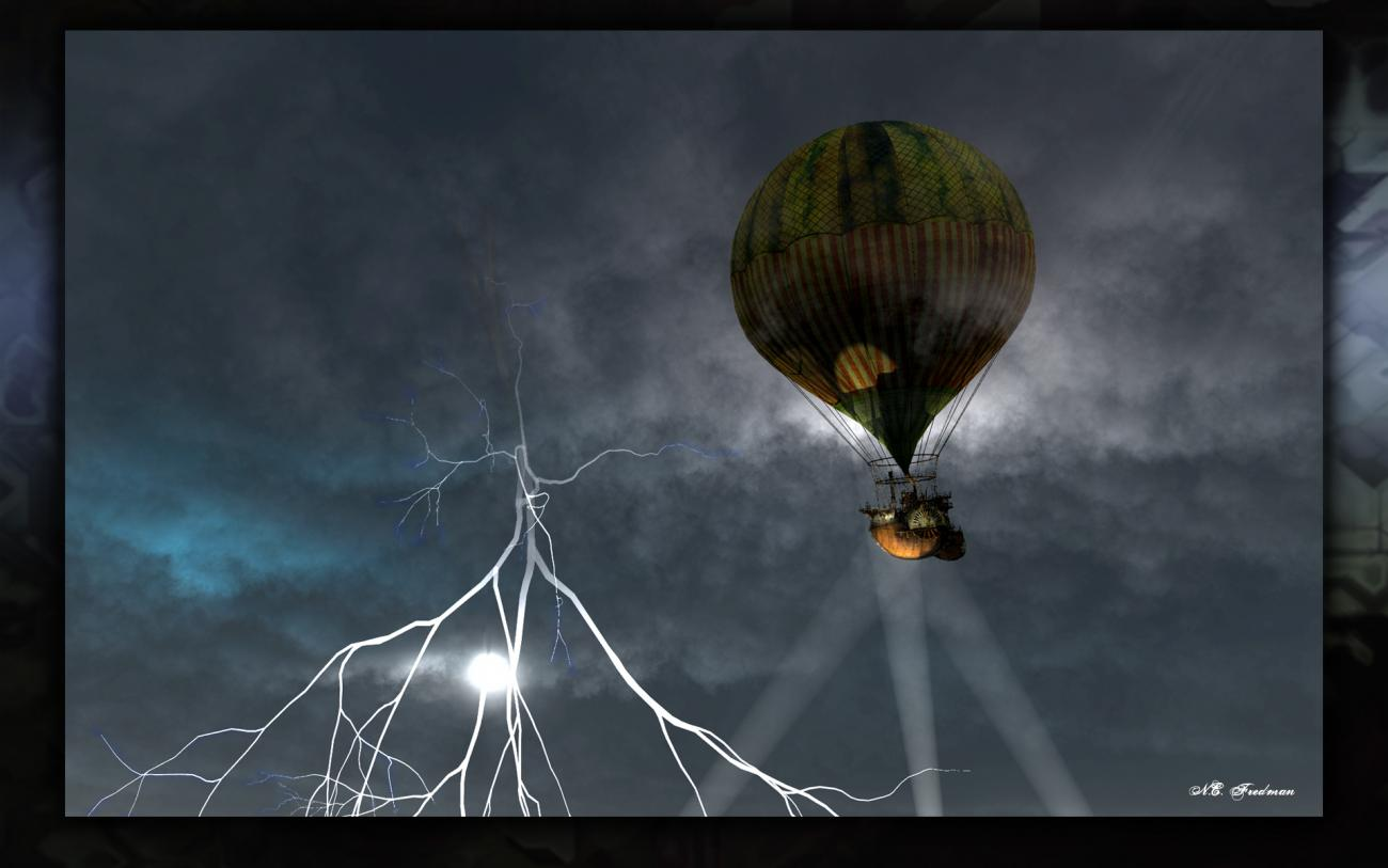 Stormy with a 100% Chance of Steampunk by nfredman