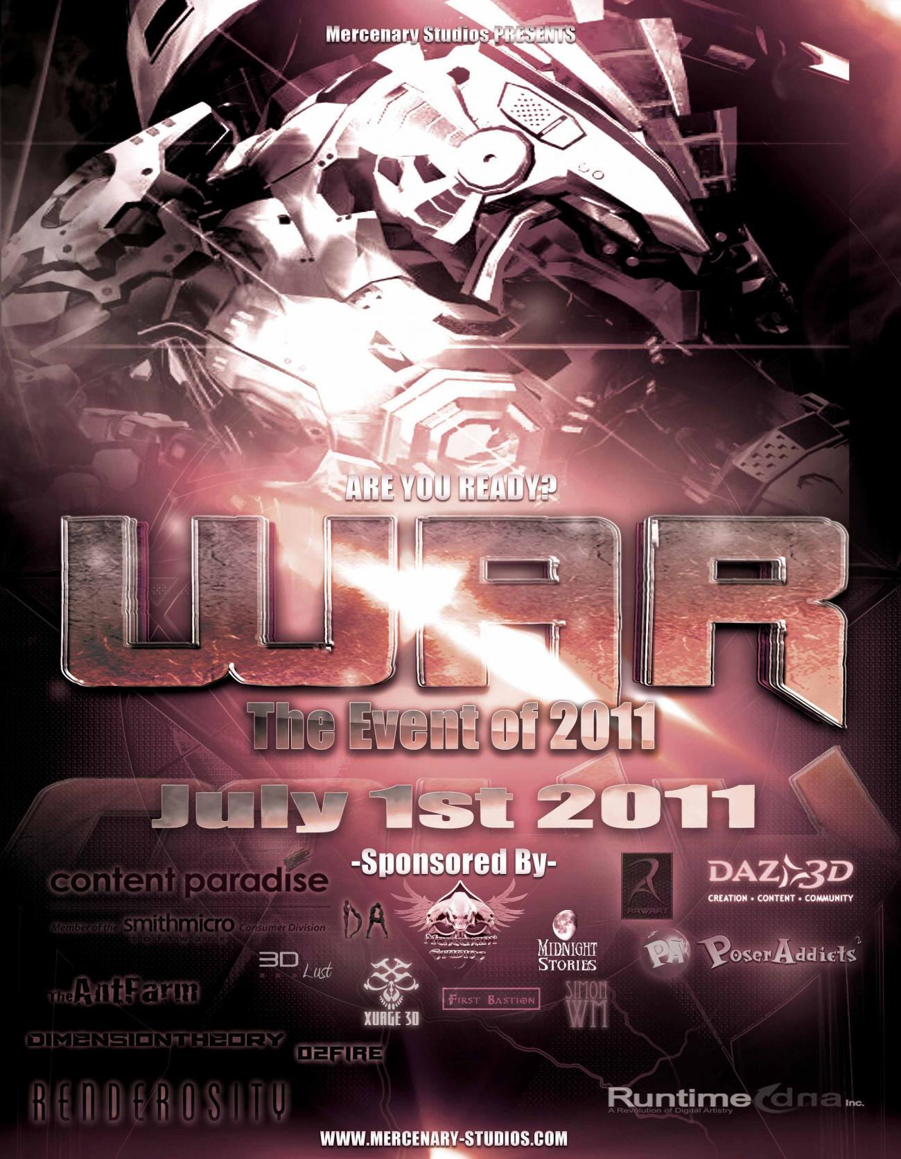 WAR Event 2011 by Mestophales