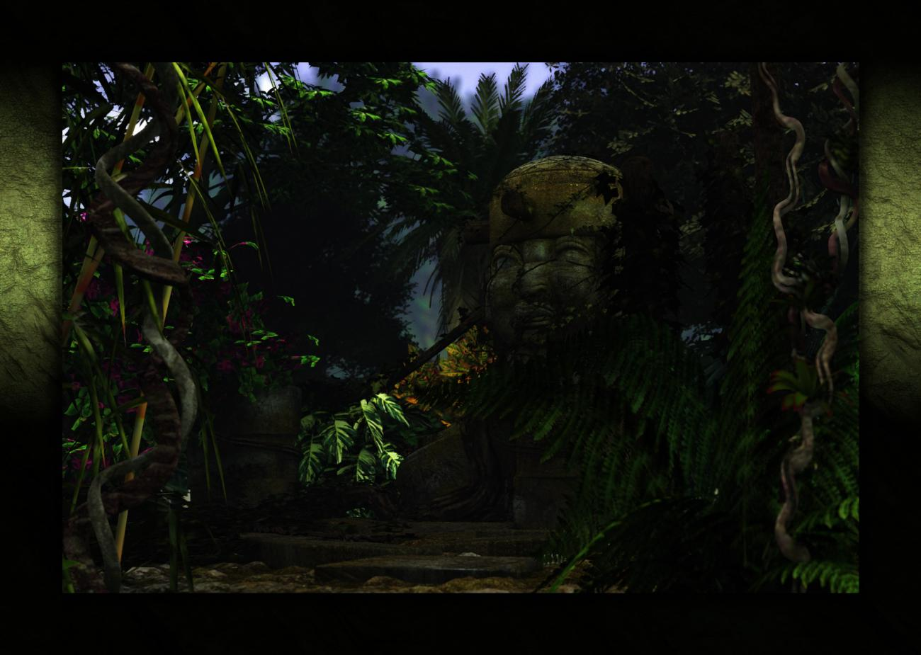 The Head in the Jungle by nfredman