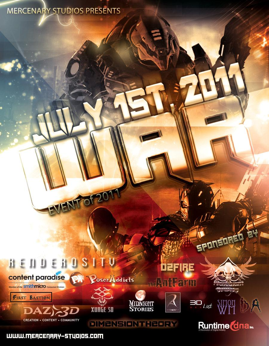 WAR Official Promo by Mestophales