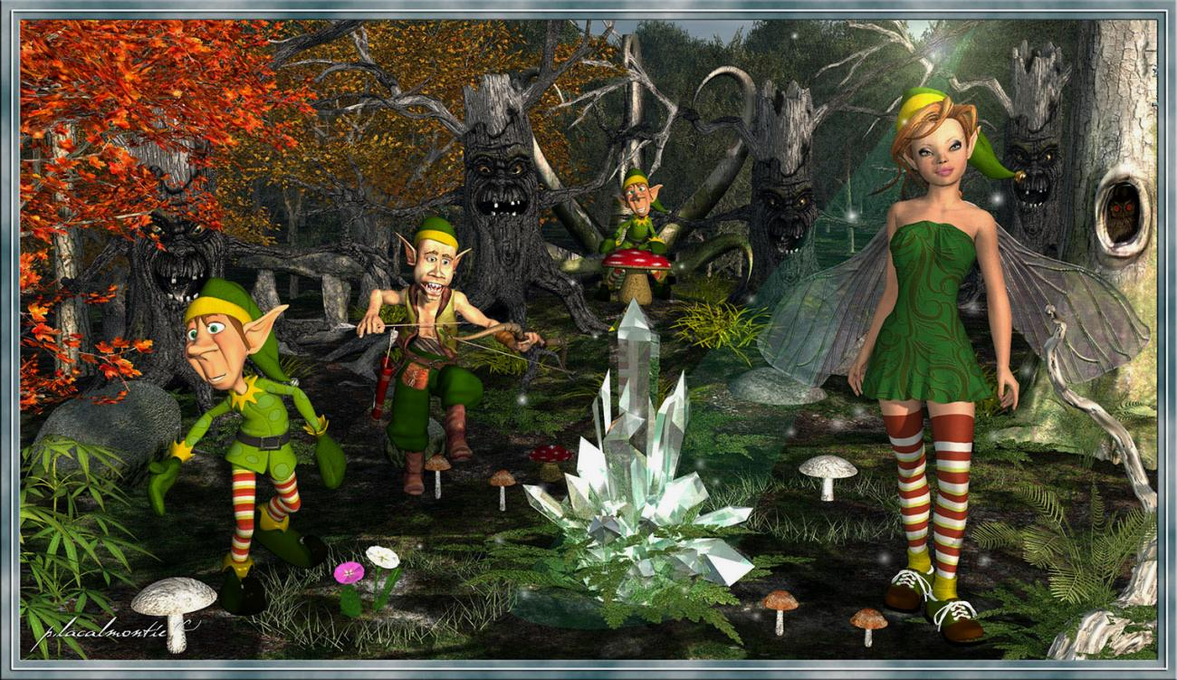 Forest lutin by P-LACALMONTIE
