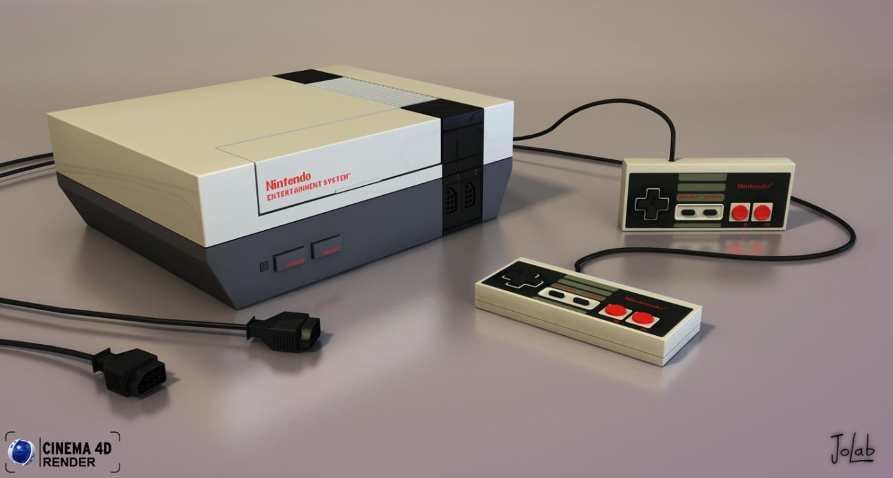My NES by JoLab