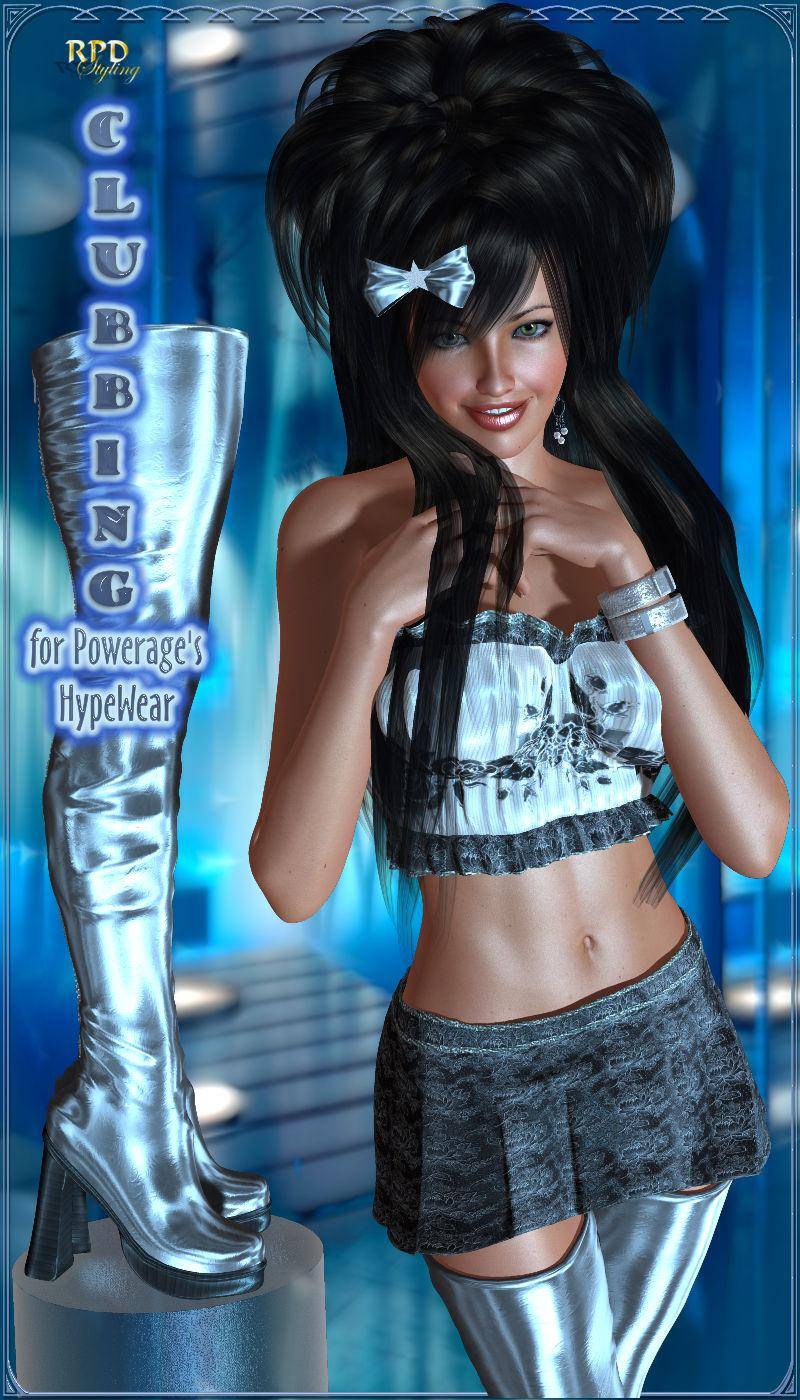 Clubbing for HypeWear by -renapd-