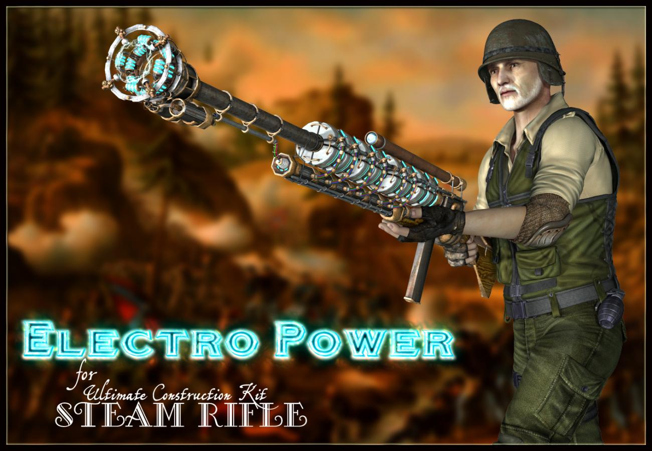 Electro Power for Steam Rifle