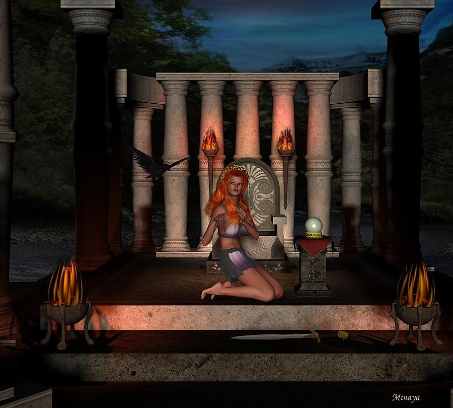 Temple  of  the  rituals by Minaya