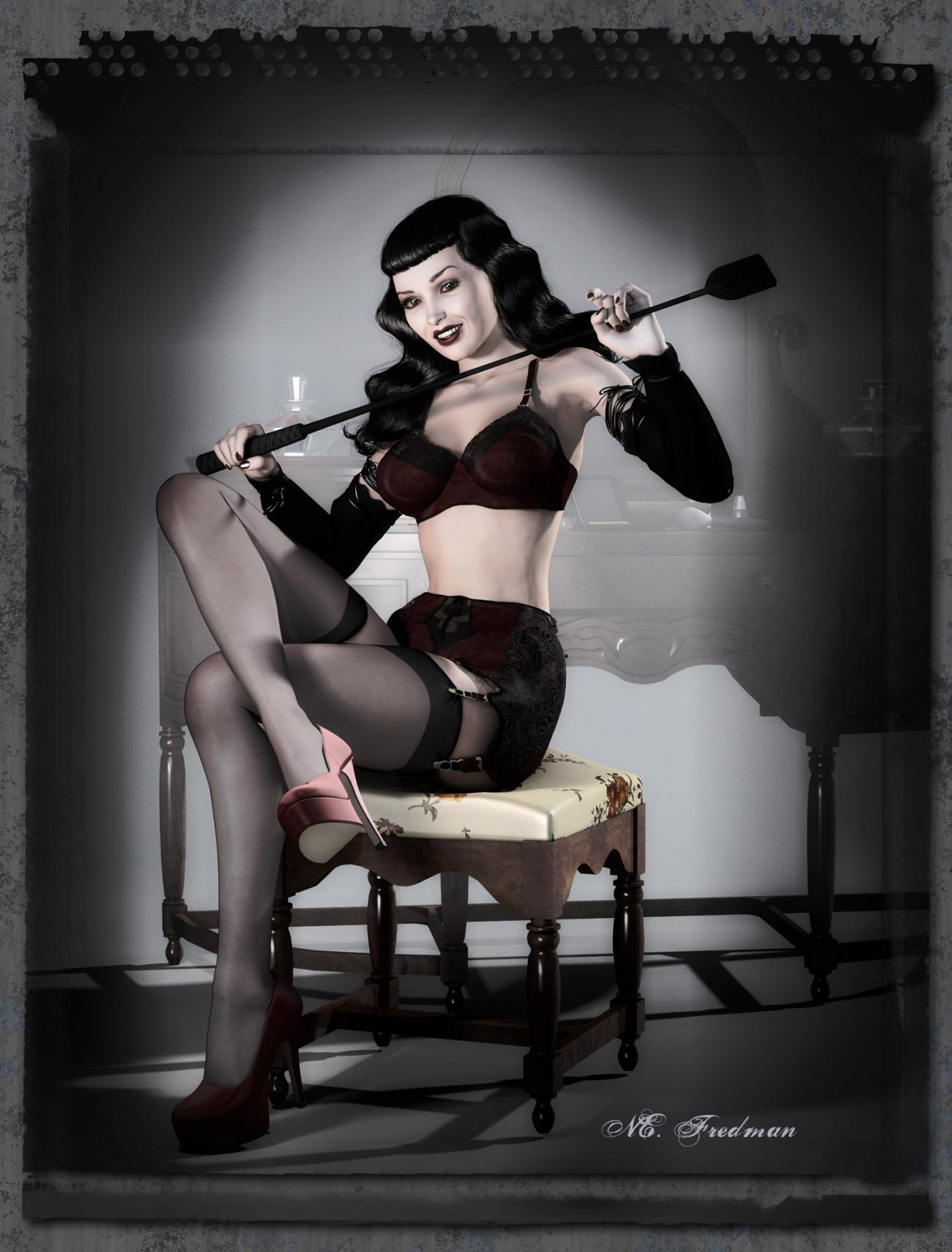Miss August: Homage-a-Bettie