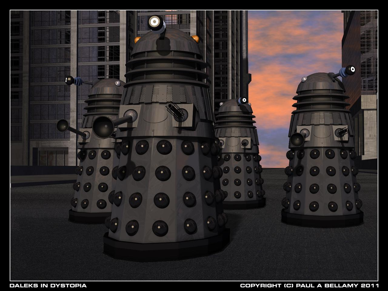 Daleks in Dystopia by SamTherapy