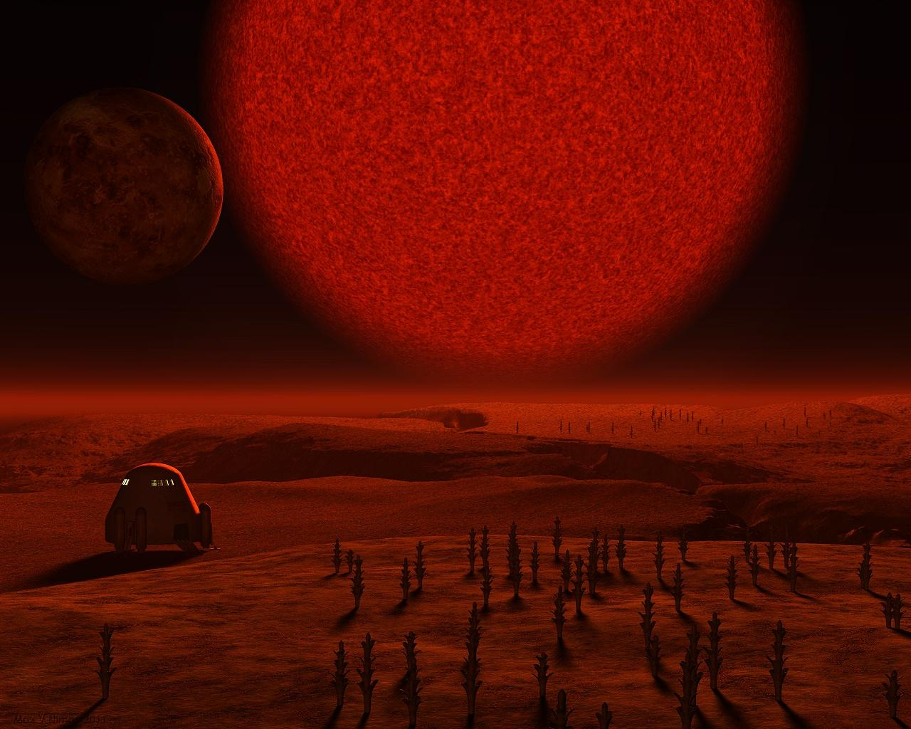 Under The Brown Dwarf by max-