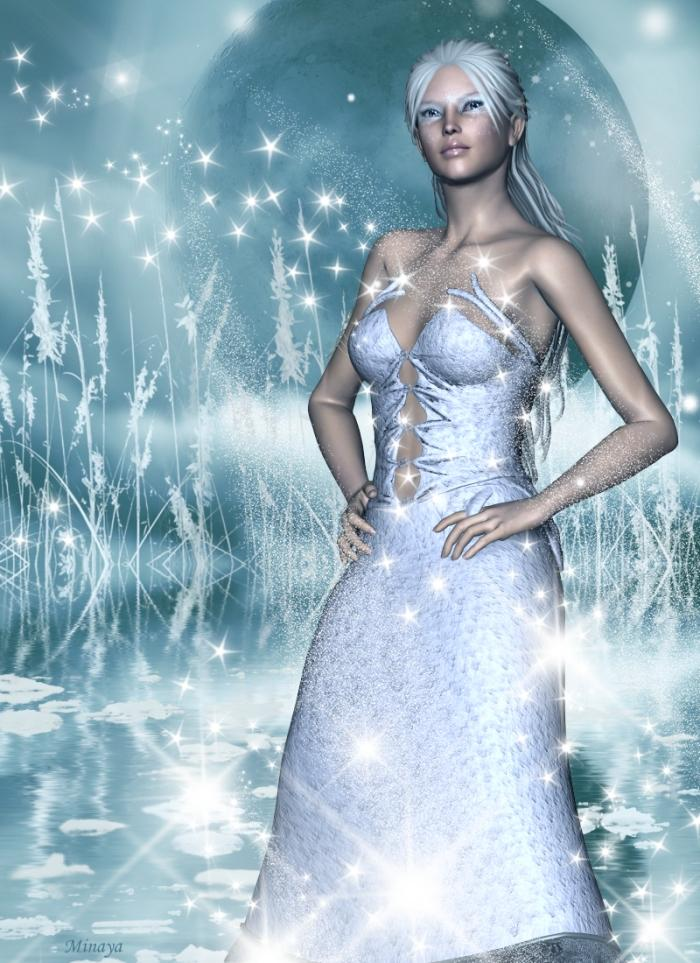 Snow Queen..... for Maike ( capelito) by Minaya