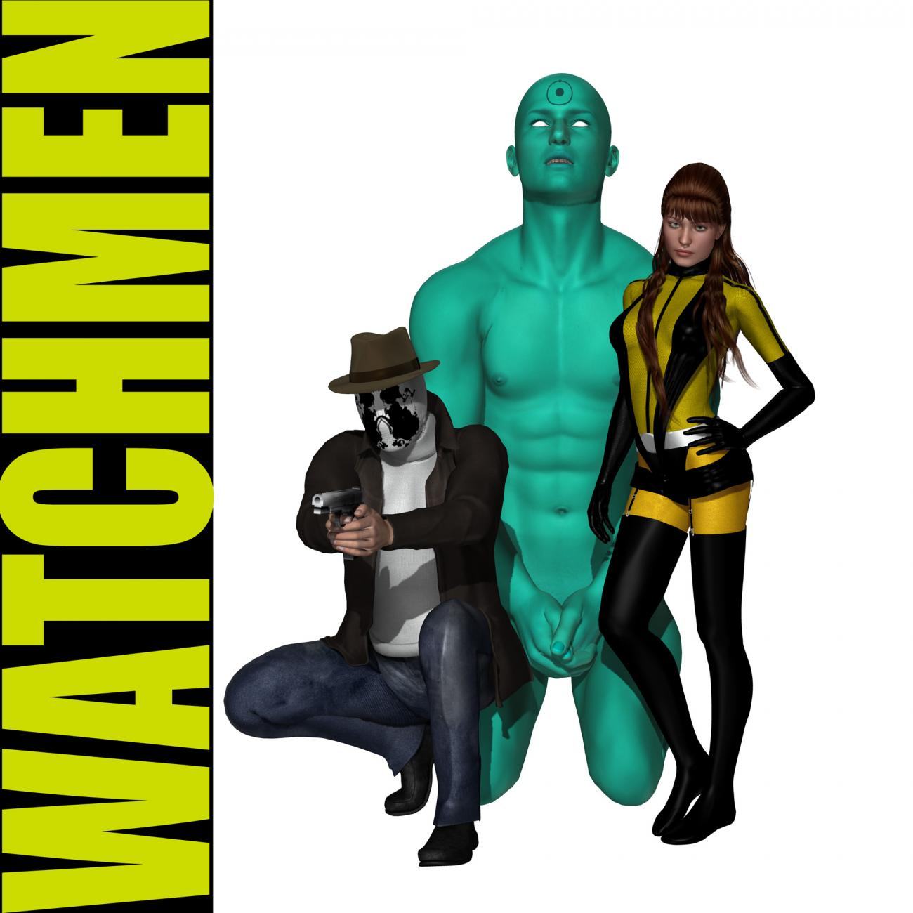 Watchmen by Josel007