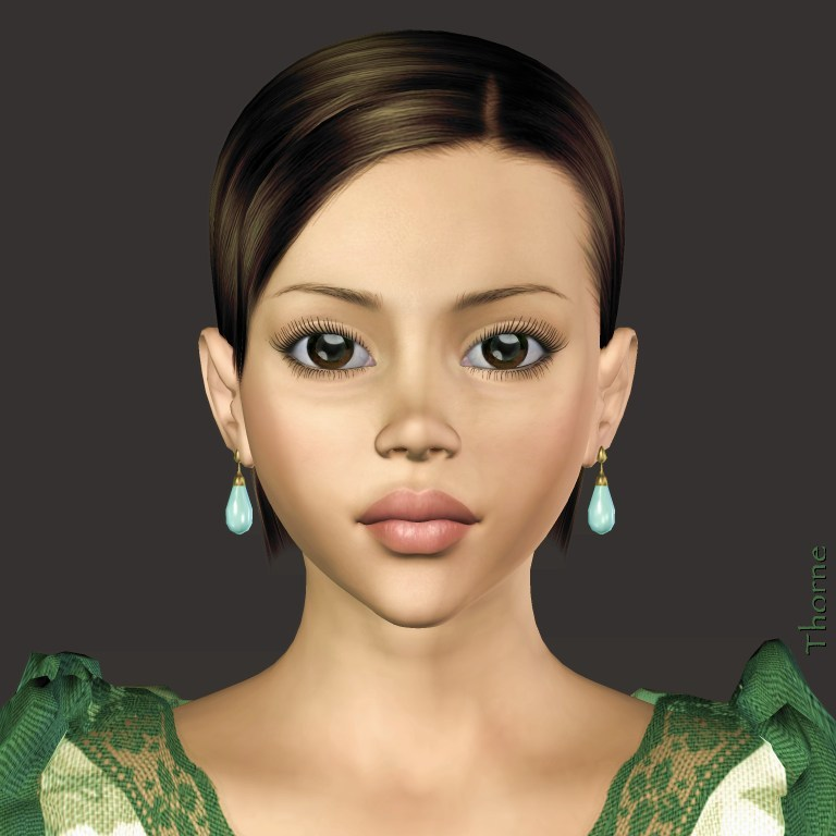 Portrait of Natalie by Thorne