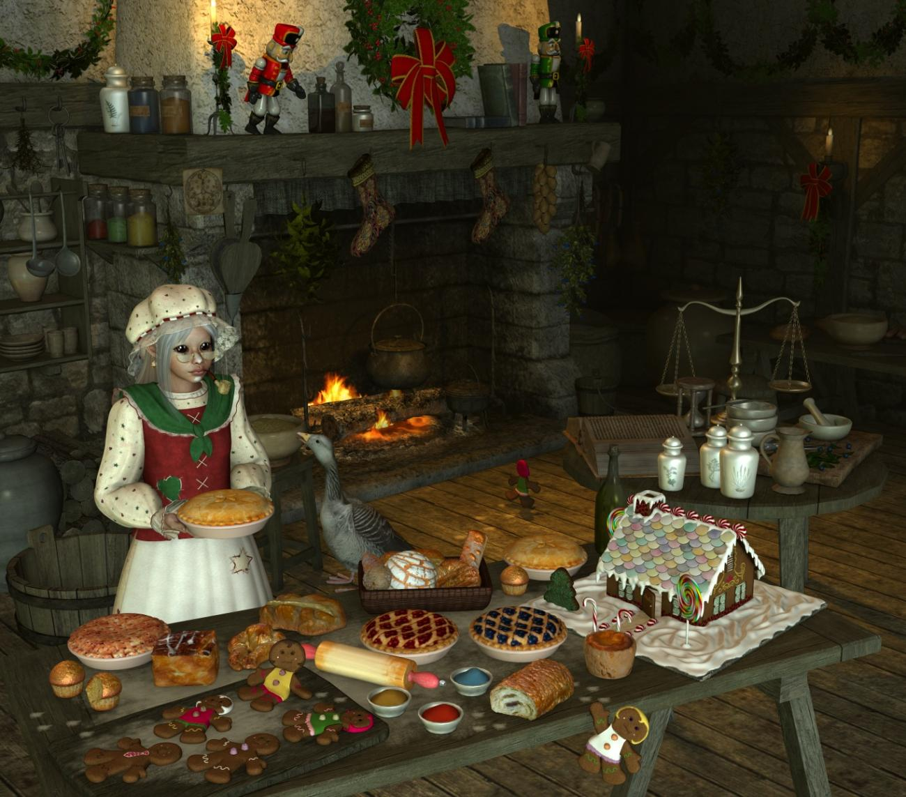 Mother Goose's Holiday Kitchen