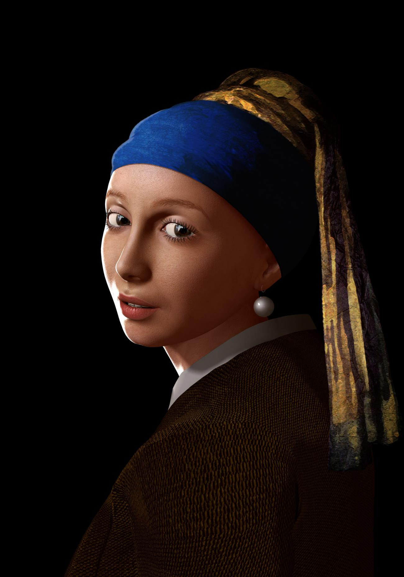 The Girl With The Pearl Earring by Josel007