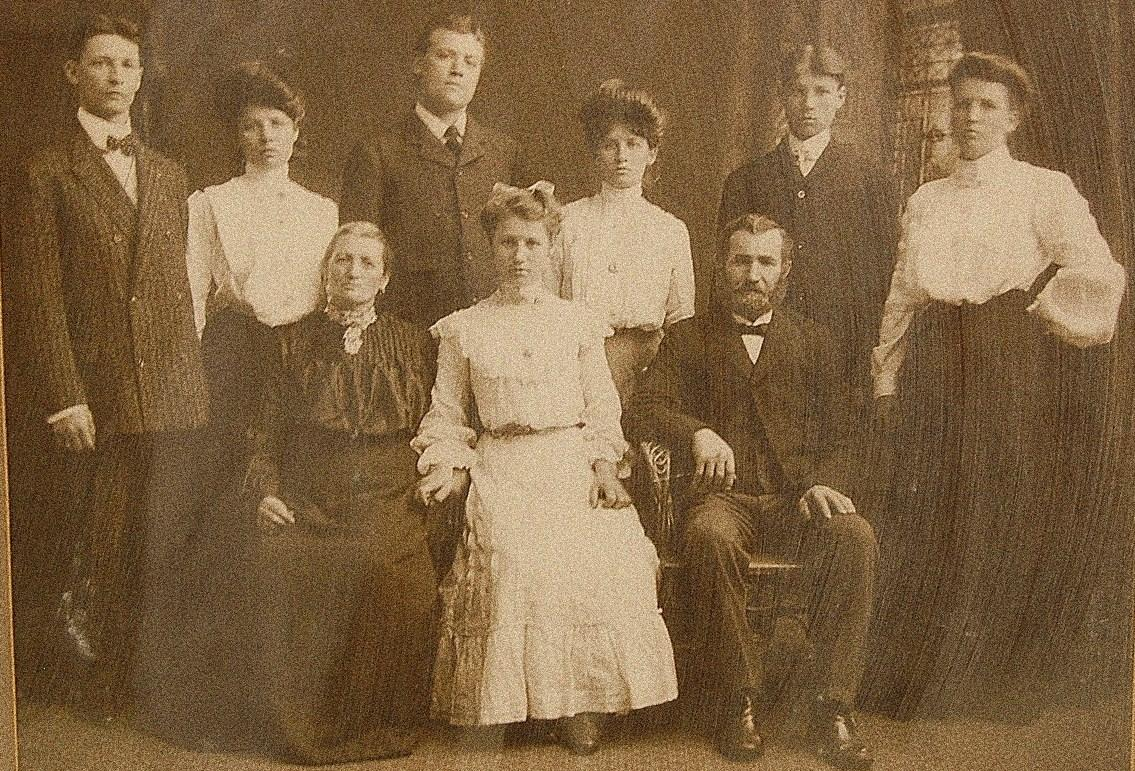 Old Family Photo From The Past
