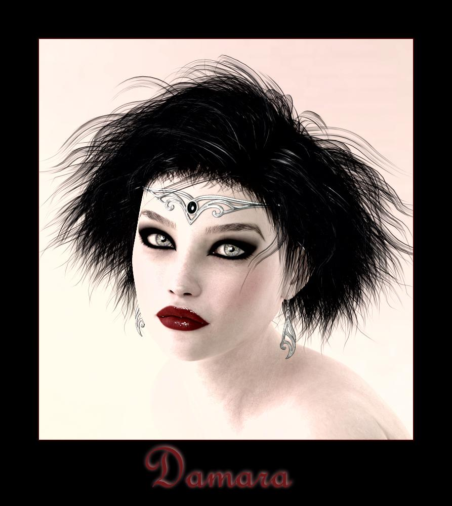 Damara for PDesign and Biscuits by HeRaZa