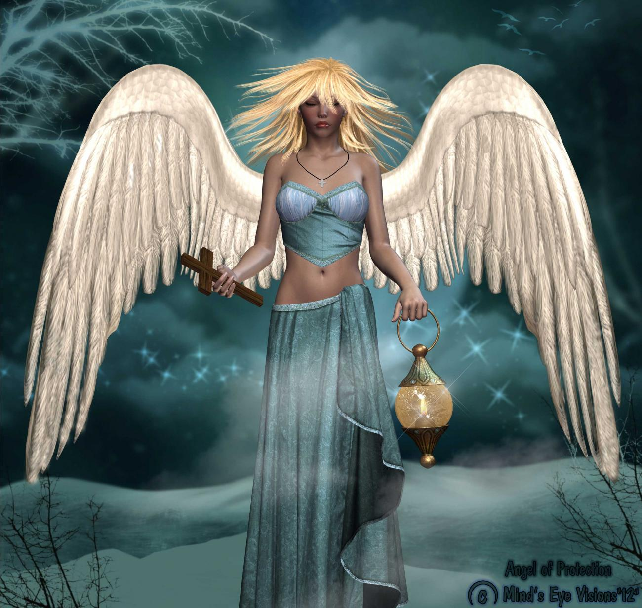 Angel of Protection (for Emma & Stolta) by eekdog