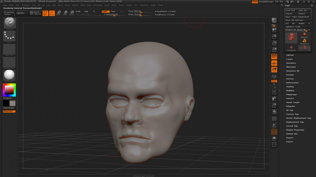 Zbrush Sculpt Update 1 by JSGraphics