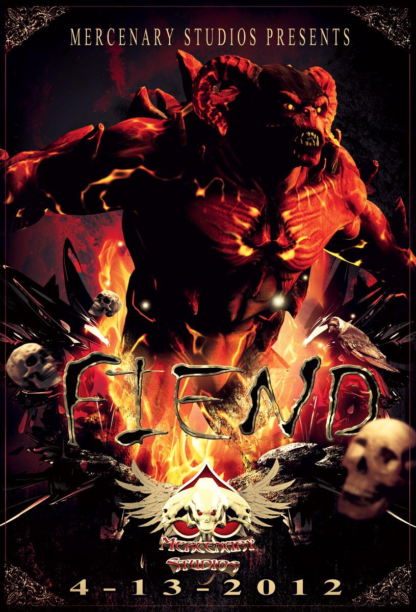 FIEND Official Release Poster by Mestophales