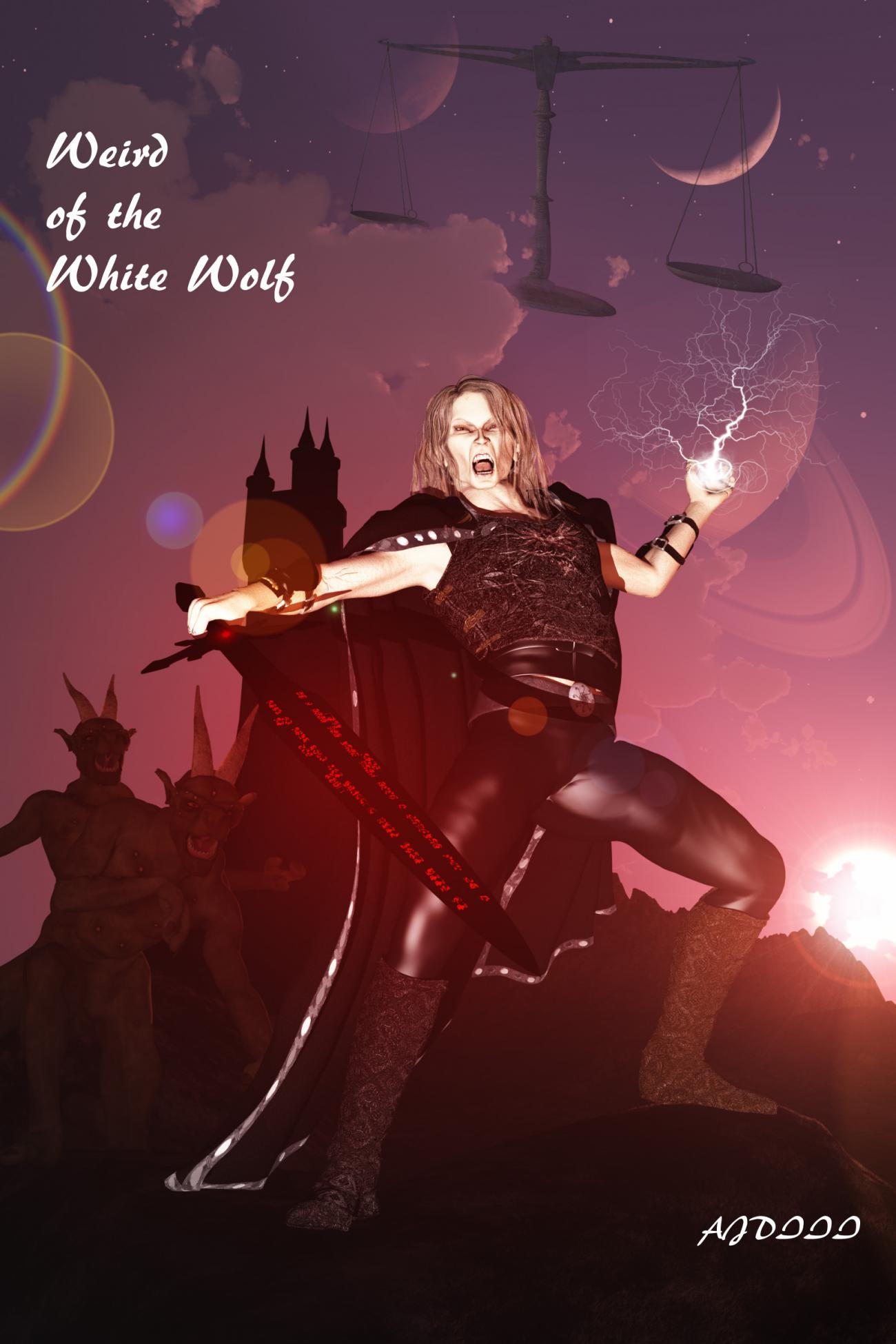 Elric:Weird of the White Wolf: For Rayvn by adorety