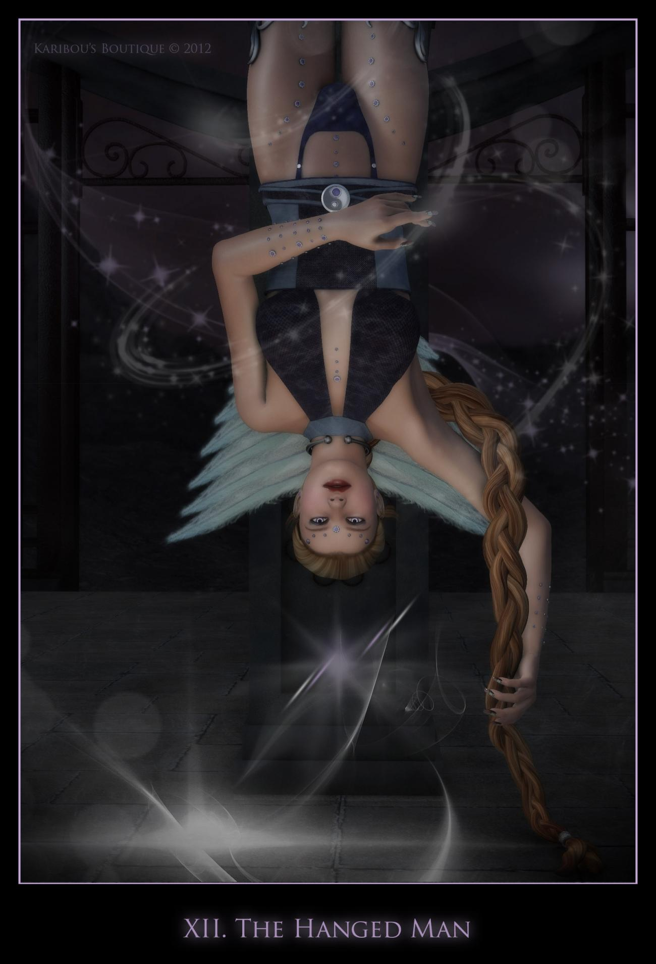 The Hanged Man by karibousboutique