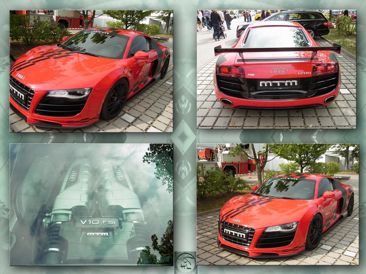 Audi R8 Spyder - for Umberto  by Dreamingbee