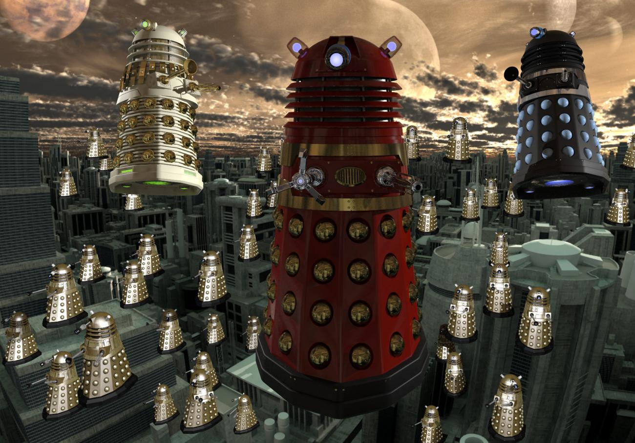The Knights of Skaro by monkeycloud