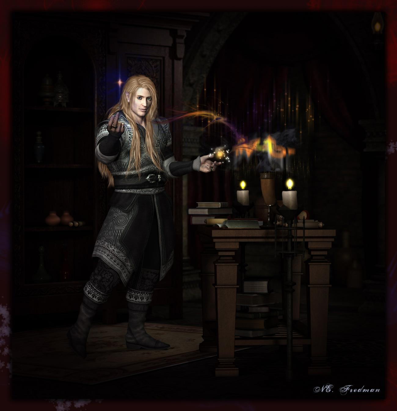 Mage's Research:  Ariolas Maharasen by nfredman