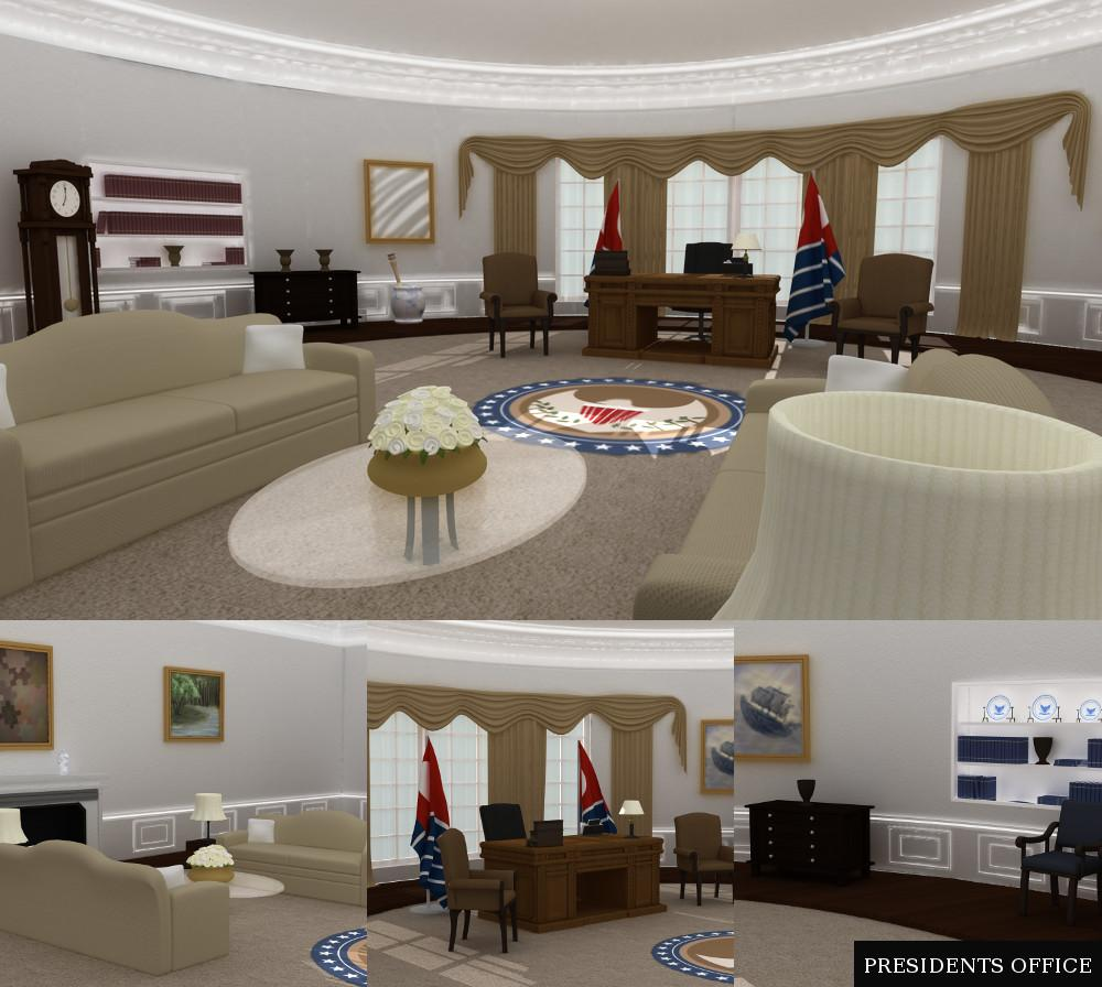 Presidents Office Freebie by TruForm