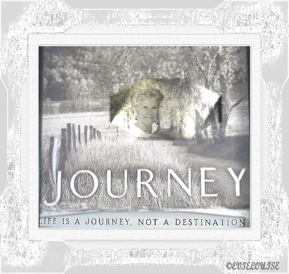 The Journey :for sister Lorraine