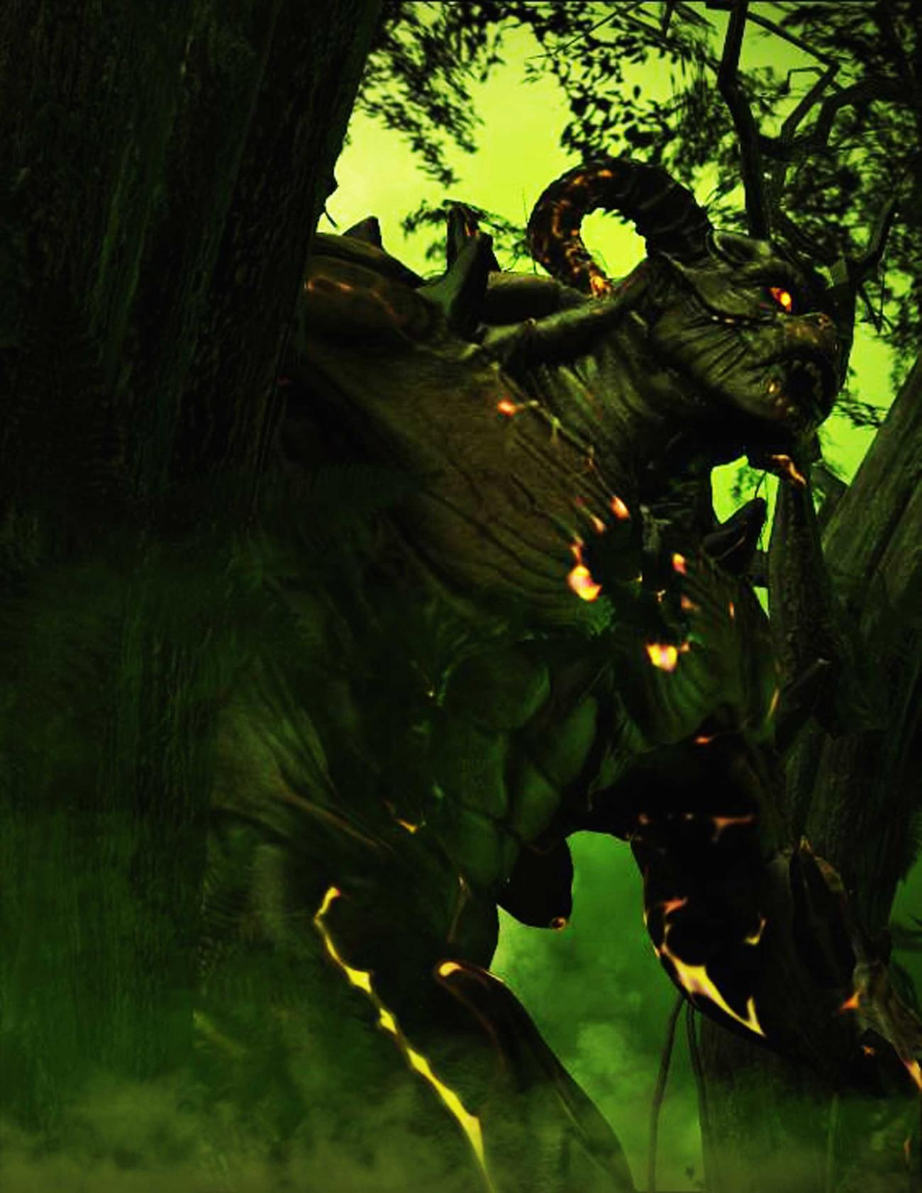 Guardian of the Emerald Forest