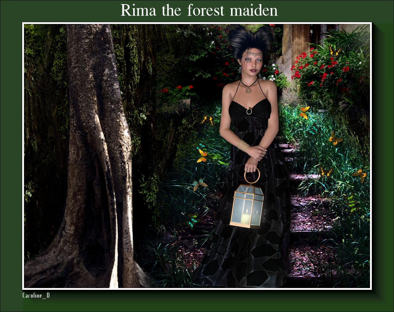Rima the forest maiden