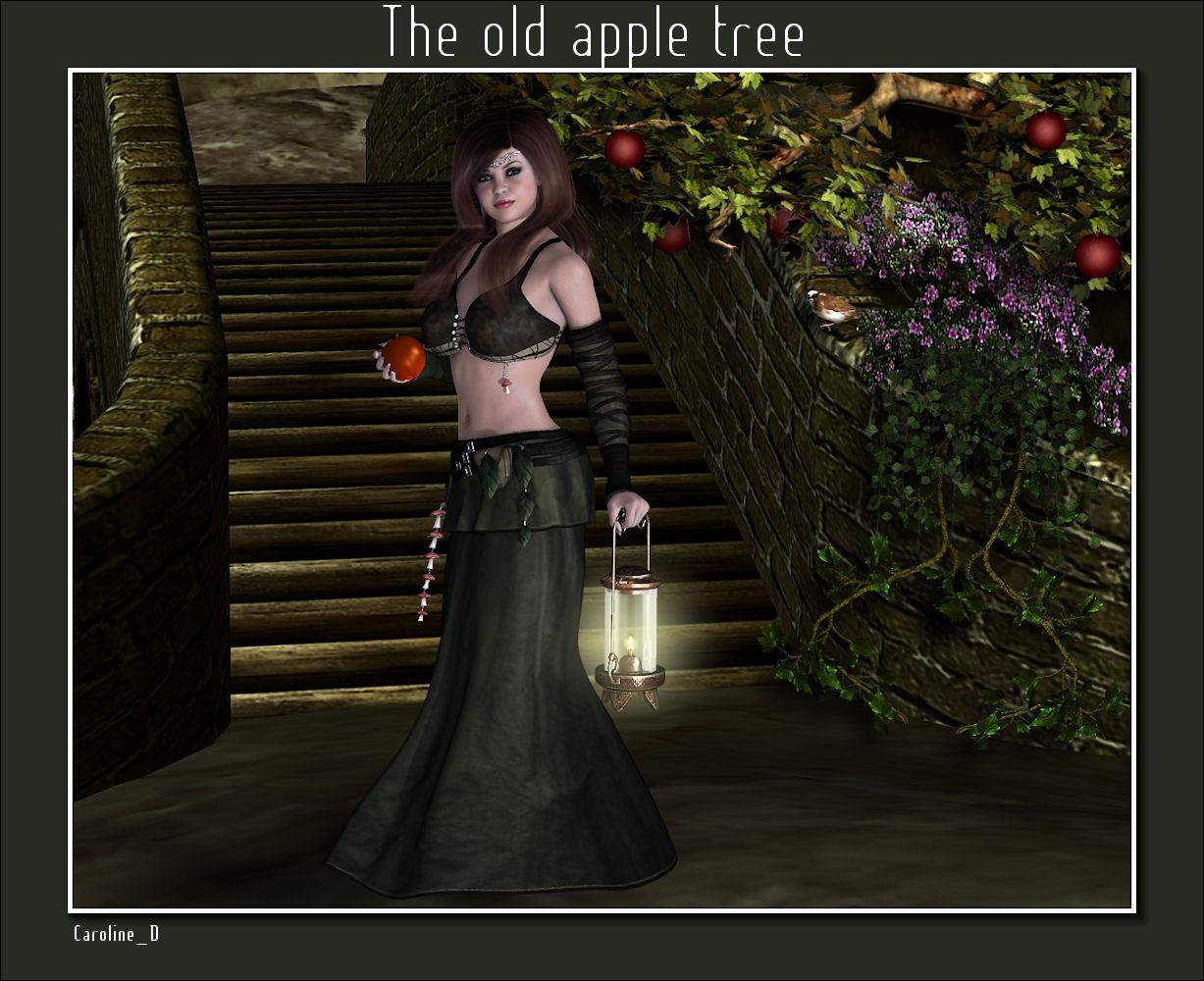 The old apple tree by Caroline_D
