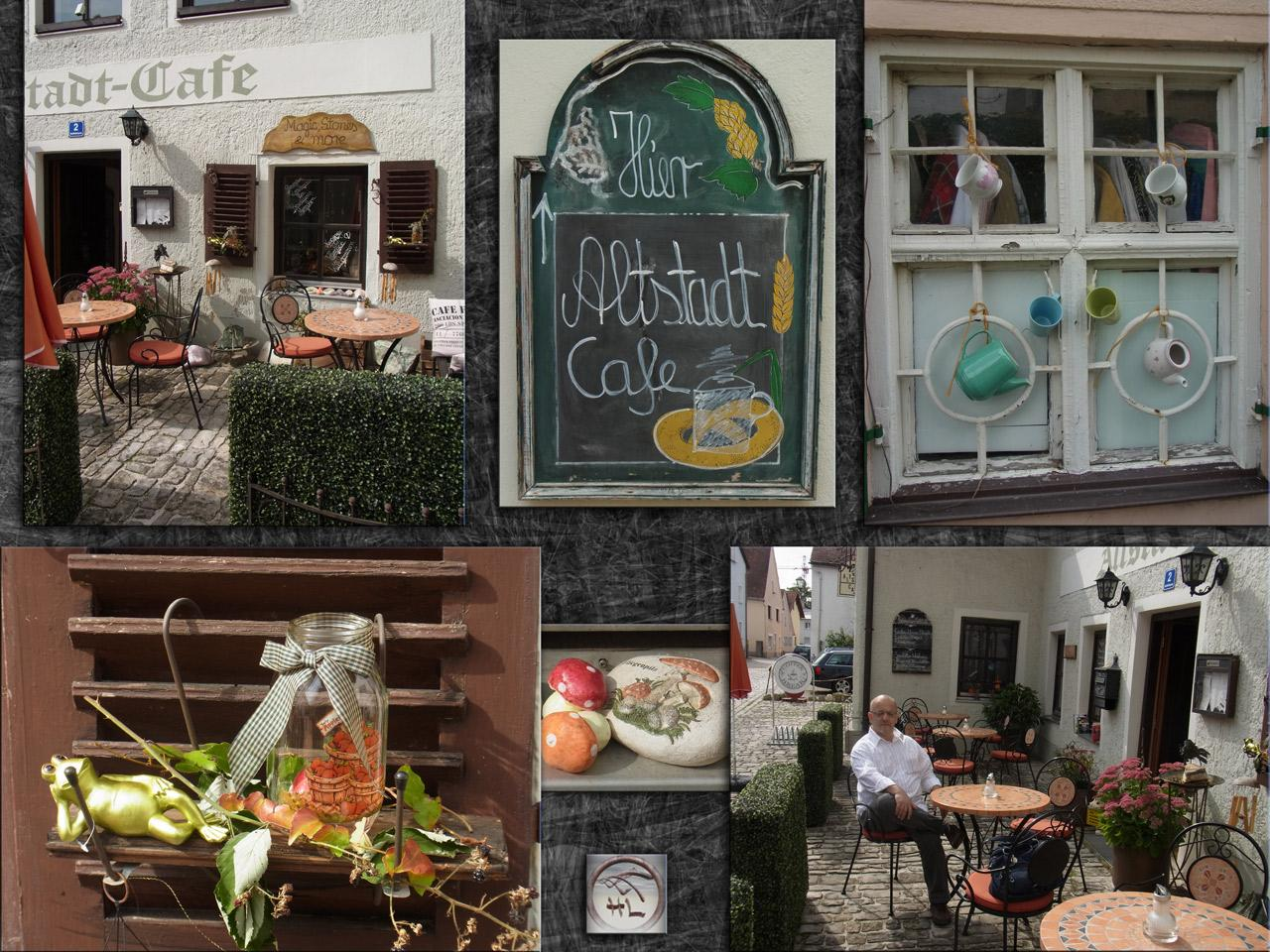 Altstadt-Cafe in Beilngries / Bavaria