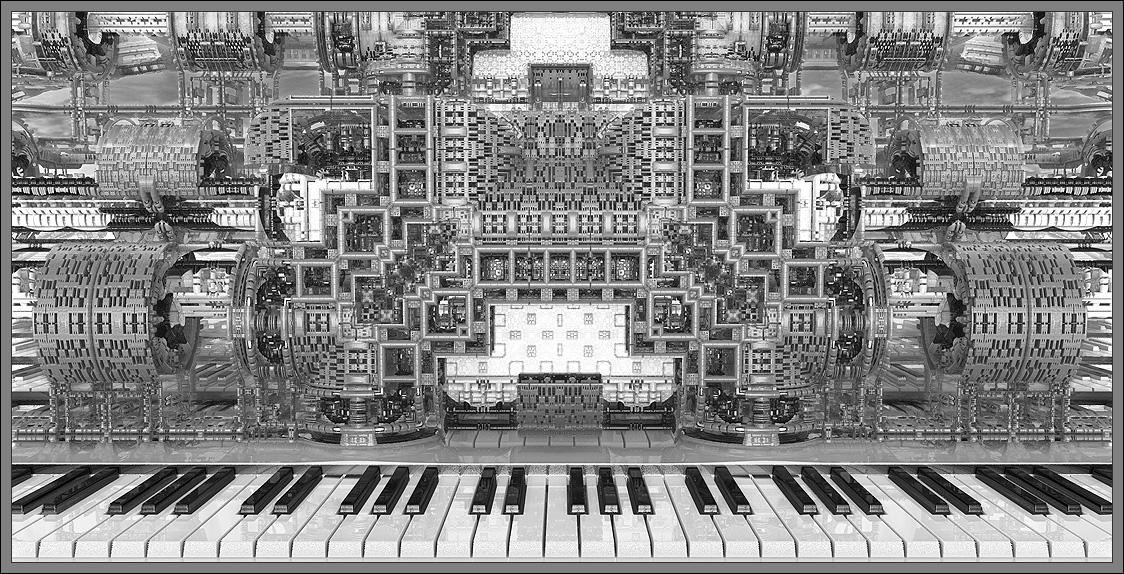 BX3000 Steam Punk Organ