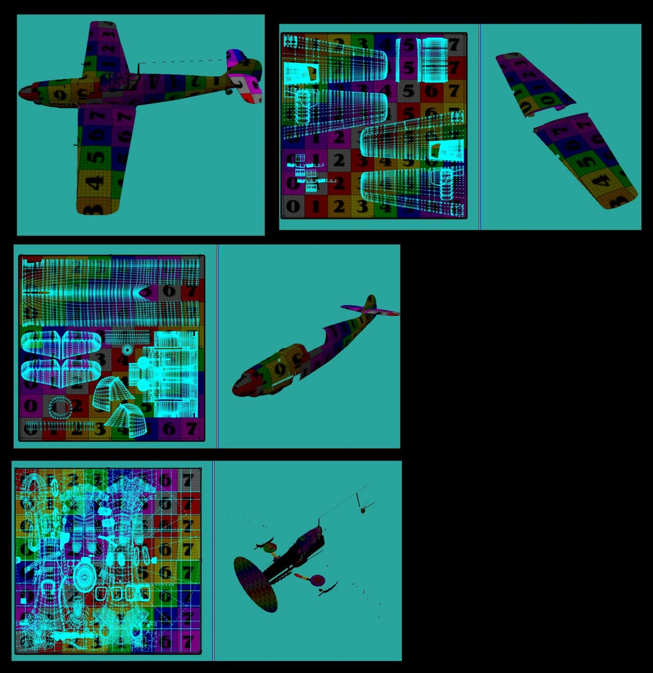 Mapping the S-199 mods to Bazze's Me-109 by UVDan